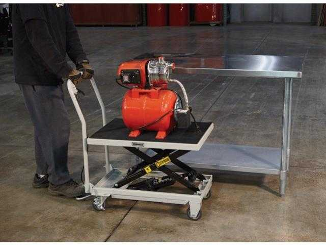 Rolling Lift Carts | Ohio AgrAbility
